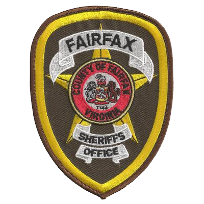 Fairfax County Sheriff badge.
