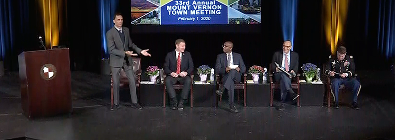 33rd Annual Mount Vernon Town Meeting
