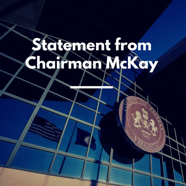 Statement from Chairman McKay