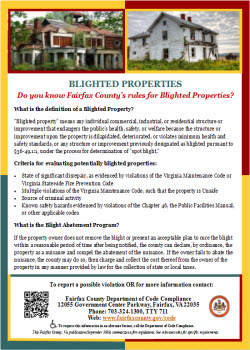 Blighted Properties Flyer