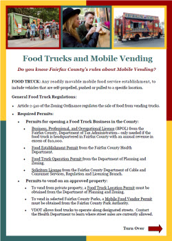 Food Trucks flyer