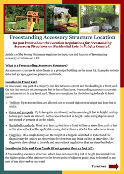 Freestanding Accessory Structure
