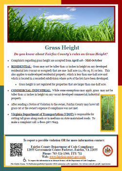 Grass Height flyer