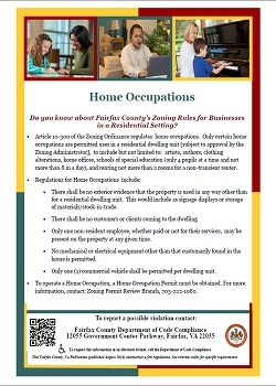 Home Occupations flyer