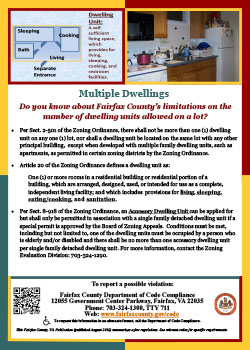 Multiple Dwelling Units flyer
