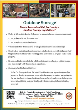 Outdoor Storage Flyer