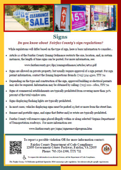 Signs Flyer