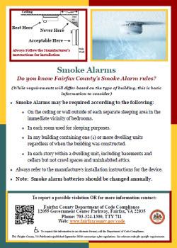 Smoke Alarms Flyer