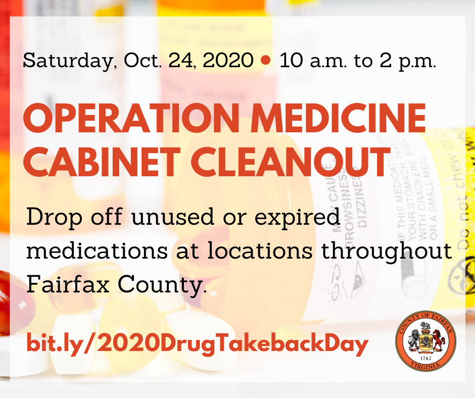 Operation Medicine Cabinet Cleanout graphic for Facebook