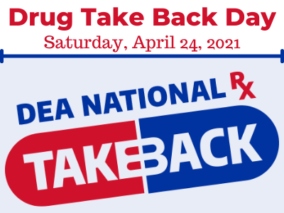 Drug Take Back Day logo