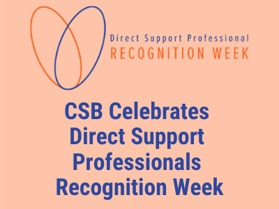 Logo for Direct Support Professional Recognition Week