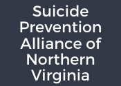 "Box with text ""Suicide Prevention Alliance of Northern Virginia"""