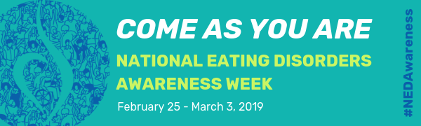 National Eating Disorders Awareness Week 2019