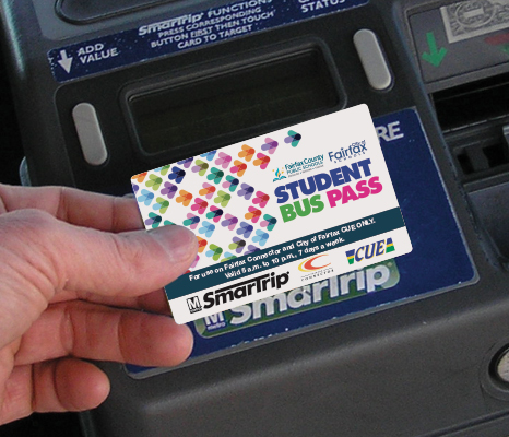 Using a SmarTrip Card on a Fare Box