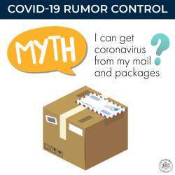 "GRAPHIC - ""Myth: I can get COVID-19 from takeout food"""