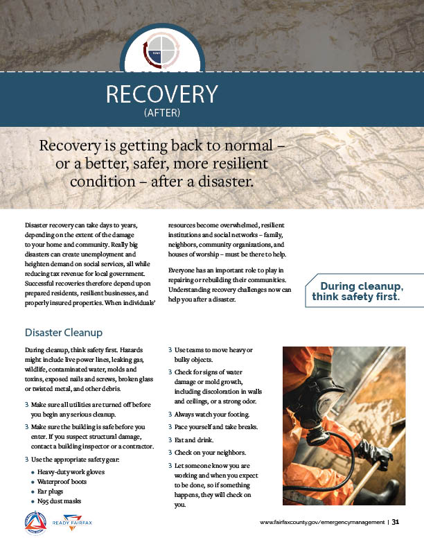 Recovery Section