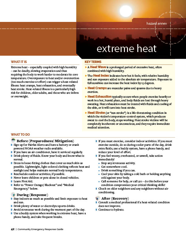 Extreme Heat   Emergency