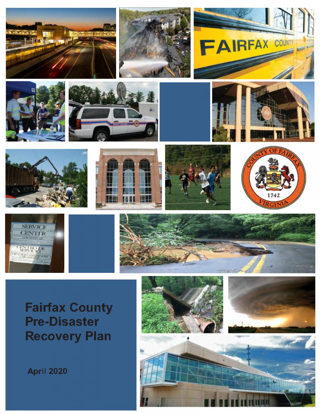Cover of the Fairfax County PDRP