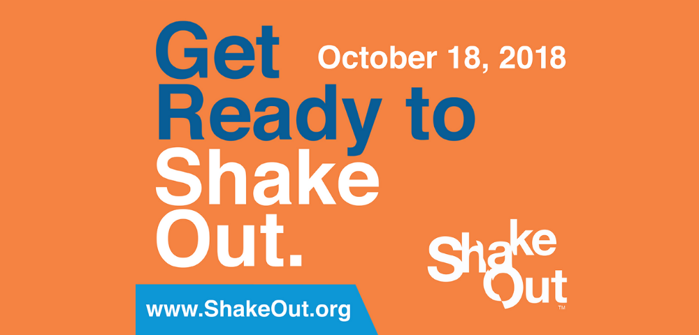 Great Southeast ShakeOut - Oct. 18th, 2018