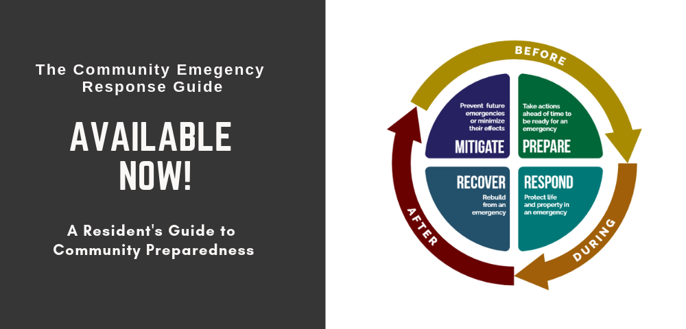 Available Now! Community Emergency Response Guide