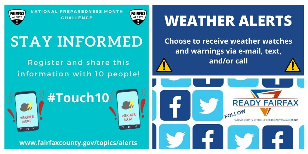 National Preparedness Month - Stay Informed!