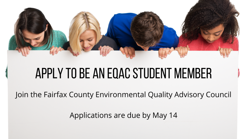 2021 EQAC Student Member application recruitment image