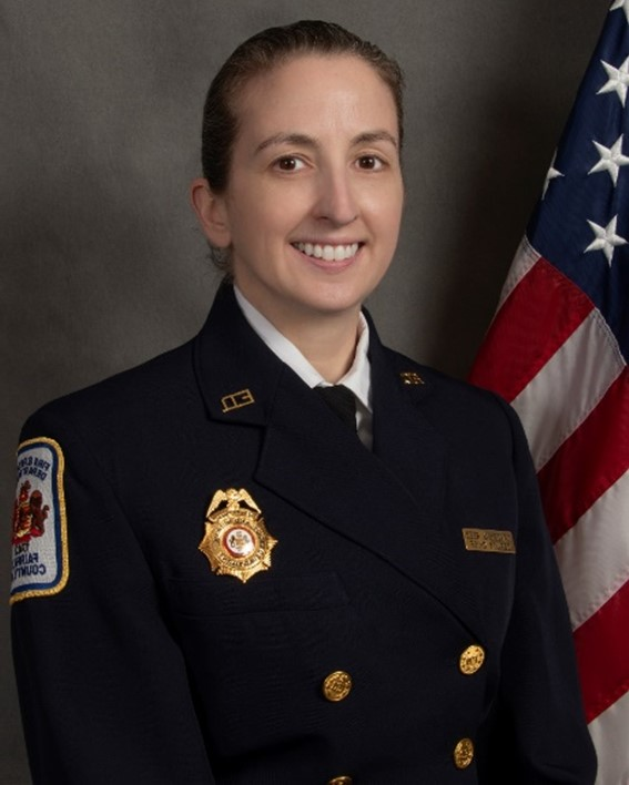 Deputy Chief Tracey Reed