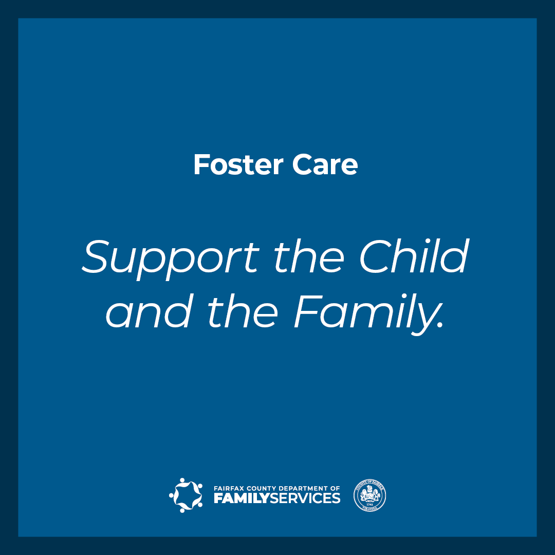 Foster Care Support the Child and the Family Facebook Instagram graphics