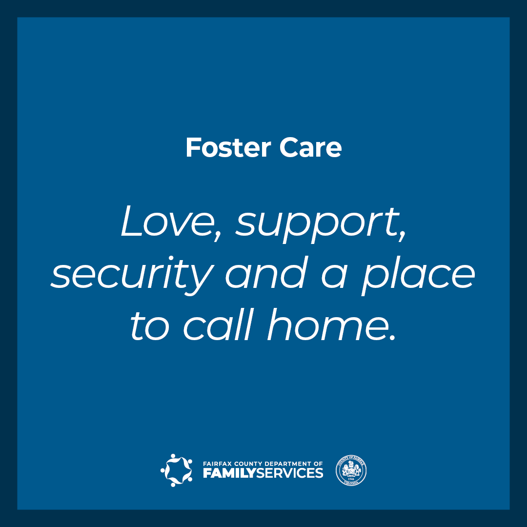 Love Support Security and a Place to Call Home Facebook Instagram graphic