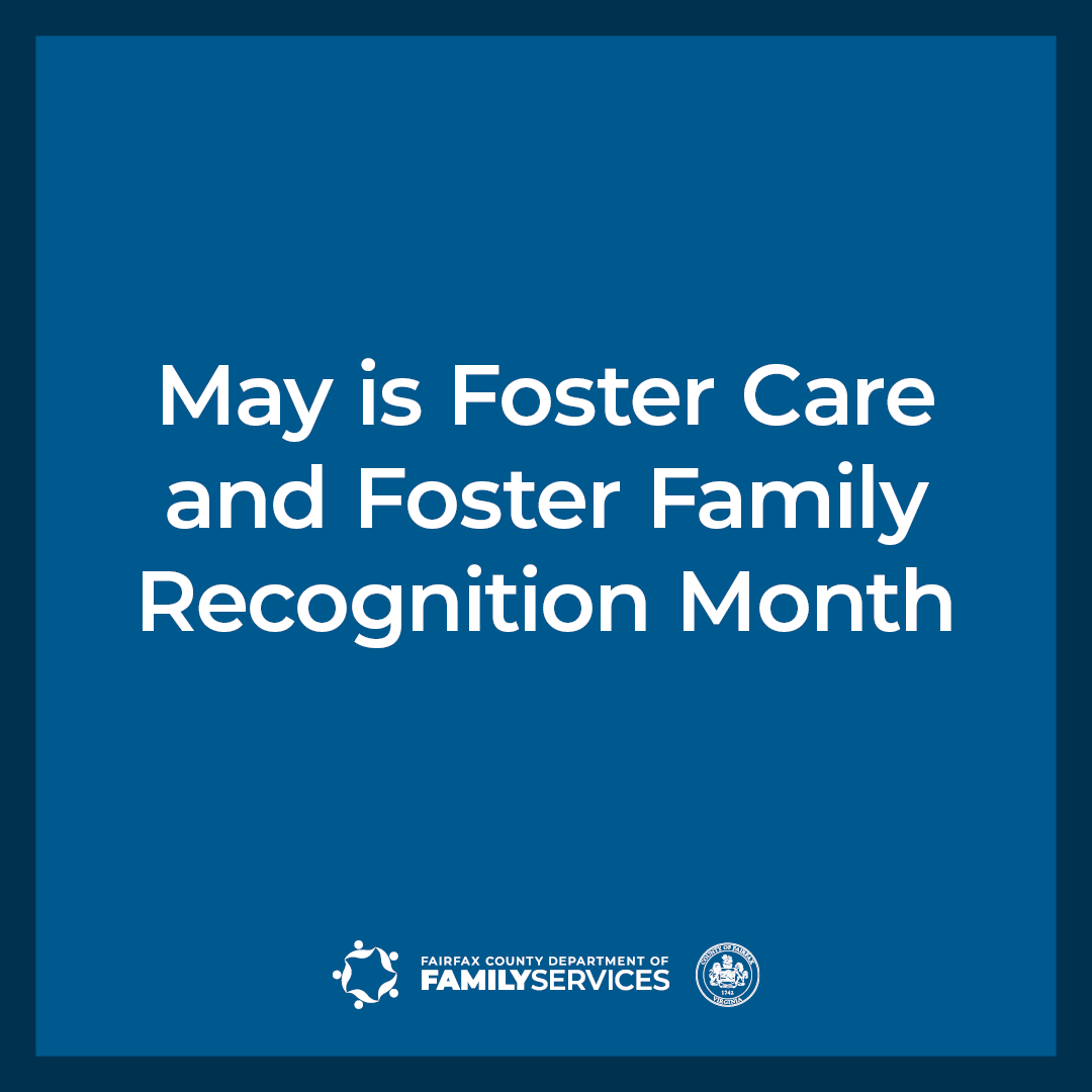 May is Foster Care and Foster Family Recognition Month Facebook Instagram graphic