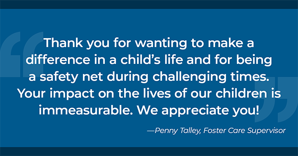 Thank You from Penny Talley