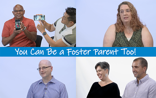 You Can Be a Foster Parent, Too video photo collage