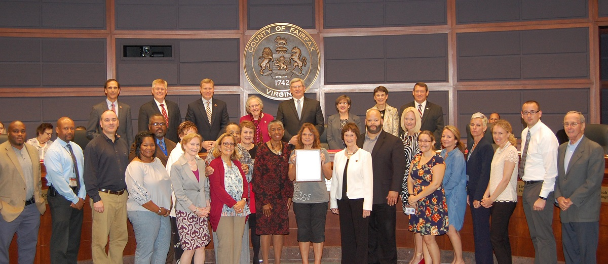 2018 Kinship Care Awareness Month proclamation group photo