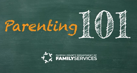 Department of Family Services - Parenting 101 video graphic