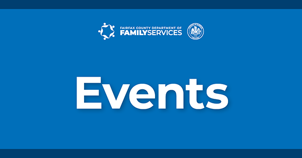 Department of Family Services Events graphic