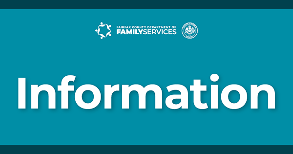Department of Family Services Information graphic