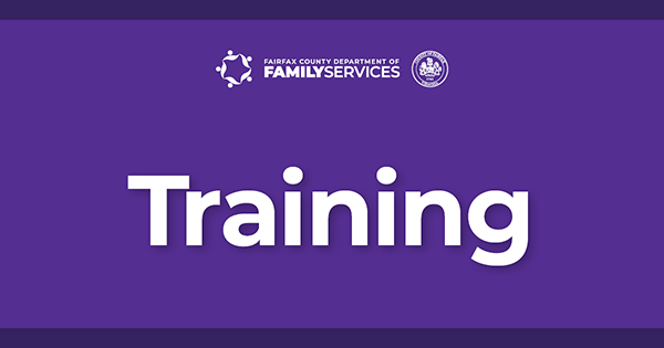 Department of Family Services Training graphic