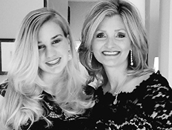 Lesley Field and her daughter, Mikalah