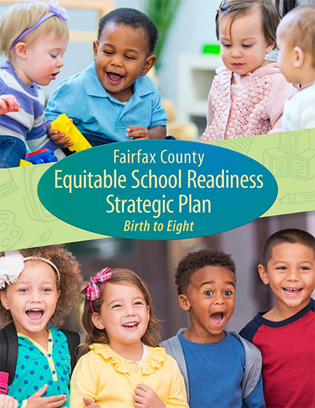 Fairfax County Equitable School Readiness Strategic Plan cover