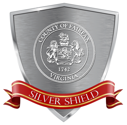Fairfax County Silver Shield Task Force graphic logo