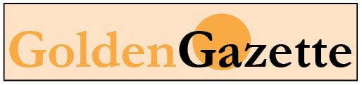 Golden Gazette newsletter banner graphic