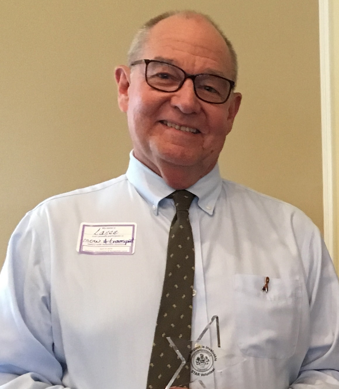Fairfax Region Star Volunteer: Lance Beets