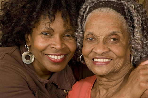 older adult caregiving for another older adult