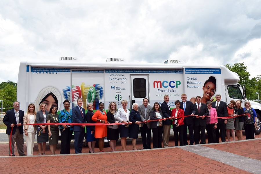 Medical Care for Children Partnership ribbon cutting