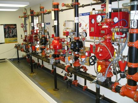 Fire Alarm Amp Sprinkler Systems Training Fasst Lab Fire