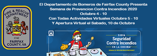 Fire Prevention Week 2020 (Spanish)