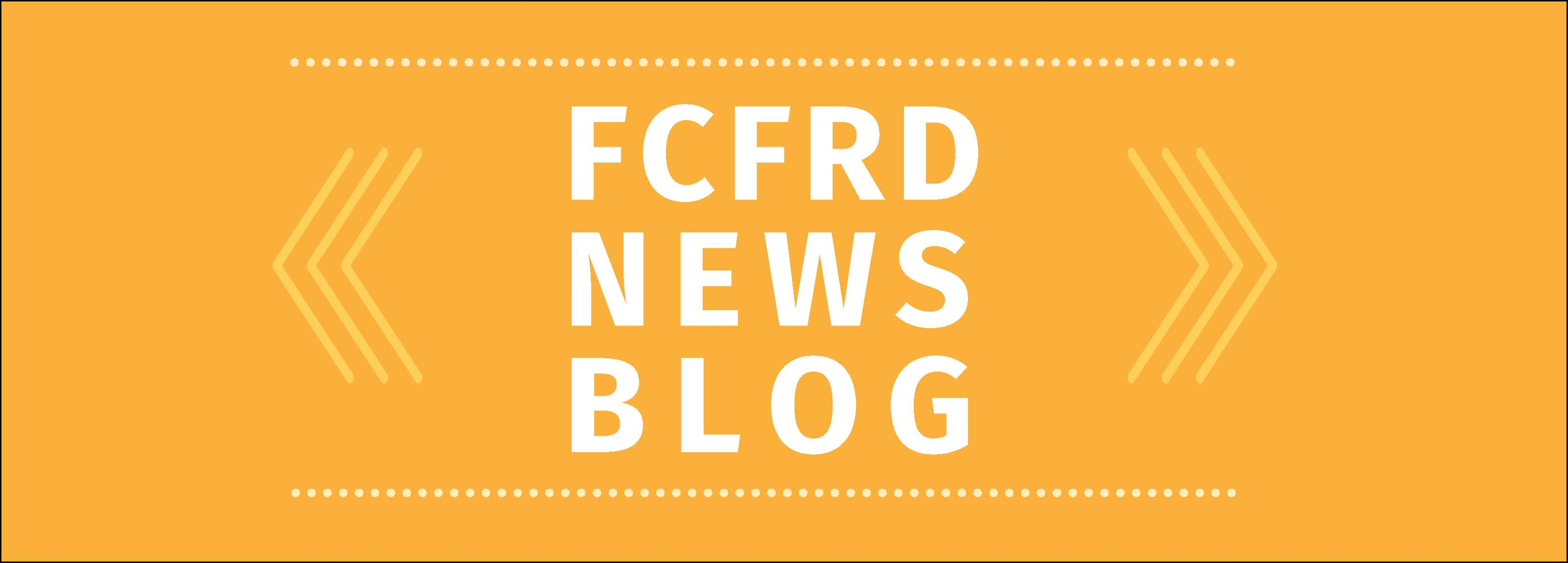 FCFRD News Blog