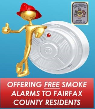 Offering free smoke alarms to Fairfax County residents