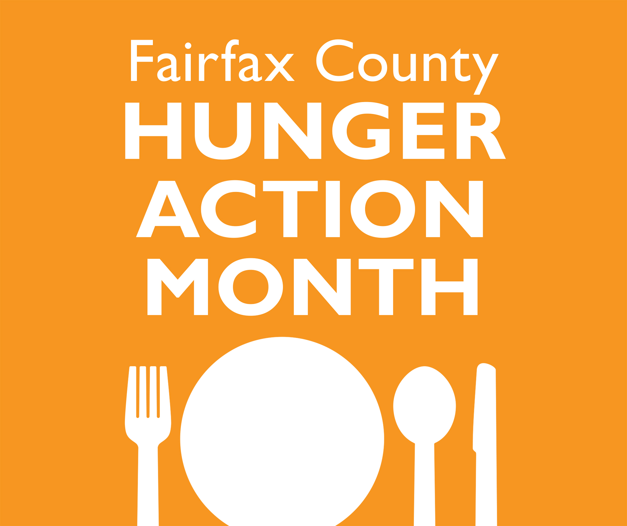 Fairfax County Hunger Action Month