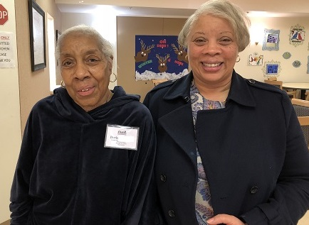Doris (Herndon Harbor Adult Day Health Care participant) and her daughter Diane